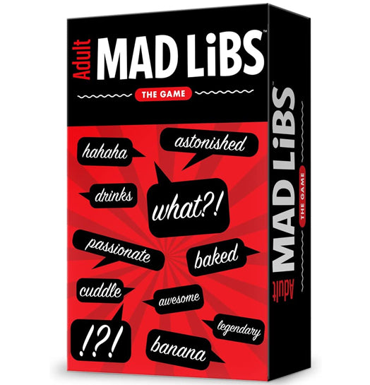 Game Mad Libs Adult