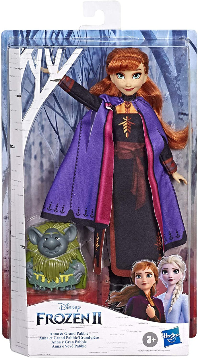 Frozen Doll Anna with Grand Pabbie