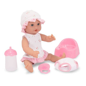 Melissa & Doug Mine to Love Annie Drink & Wet Doll