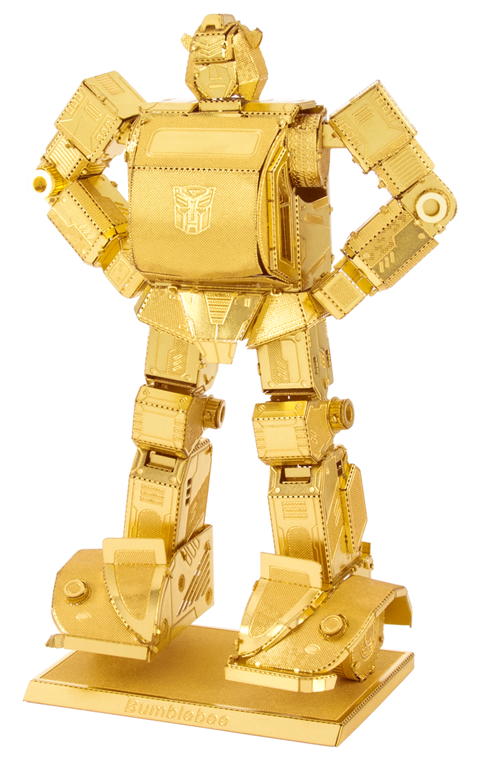 Metal Earth Transformers Bumblebee MMS301G Gold