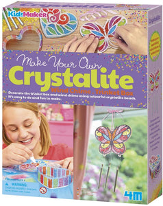 4M Make Your Own Crystalite Wind Chime or Trinket Box