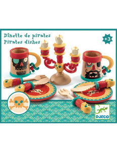 Djeco Pirate Dishes DJ06522