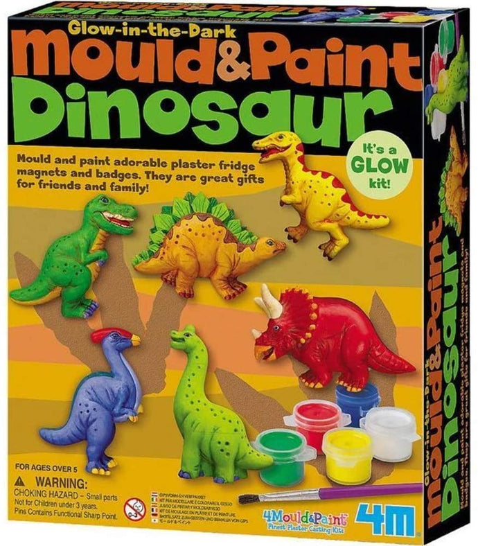 4M Mould & Paint Dinosaur