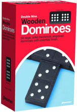 Load image into Gallery viewer, Game Dominoes Wooden Double Nine