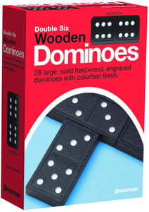 Game Dominoes Wooden Double Six