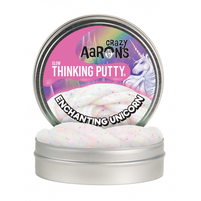 Thinking Putty Glow in the Dark Enchanting Unicorn