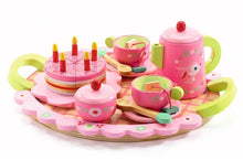 Load image into Gallery viewer, Djeco Lili Rose's Tea & Cake Set DJ06639