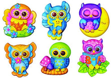 Load image into Gallery viewer, 4M Mould & Paint Owls