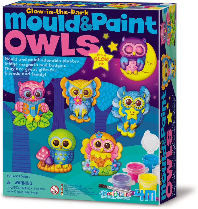 4M Mould & Paint Owls