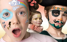 Load image into Gallery viewer, Djeco Face Painting Superhero Kit