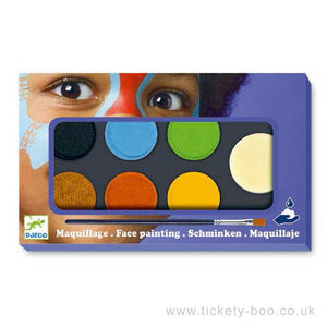 Djeco Face Painting Superhero Kit