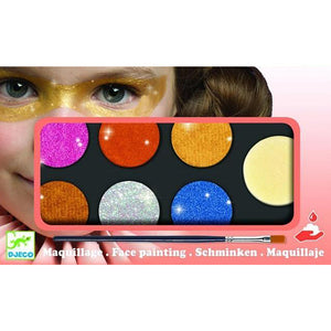 Djeco Face Painting Metallic Kit