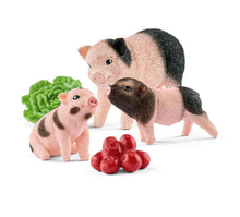 Load image into Gallery viewer, Schleich Miniature Pig Mum and Piglets 42422