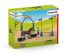 Load image into Gallery viewer, Schleich Pony Agility Race 42482