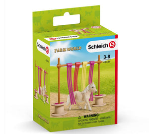 Schleich Pony Curtain Obstacle 42484