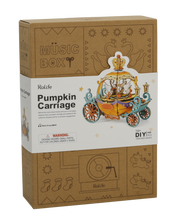 Load image into Gallery viewer, Pumpkin Carriage DIY Music Box