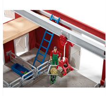 Load image into Gallery viewer, Schleich Large Red Barn and Accessories 72102