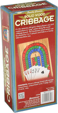 Load image into Gallery viewer, Game Solid Wood Cribbage Folding Board