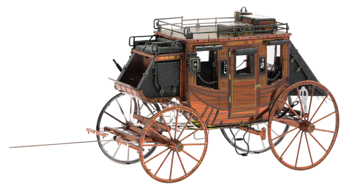 Metal Earth Wild West Stagecoach mms189