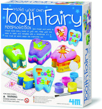 Load image into Gallery viewer, 4M Tooth Fairy Keepsake Box DIY