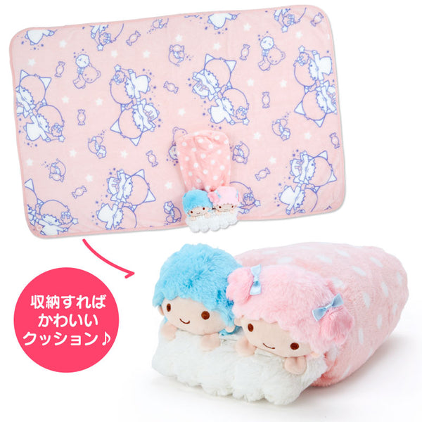 Sanrio - Manta con Estuche Little Twin Stars