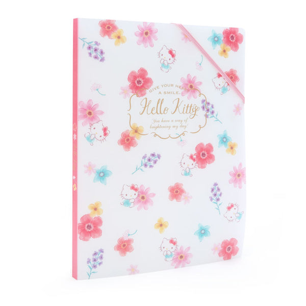 mononoperu,Sanrio - Folder de 8 Bolsillos A4 Hello Kitty Flowers,Monono,.