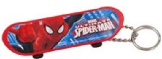 Marvel - Llavero Skate de Spiderman-Marvel-Monono-Peru