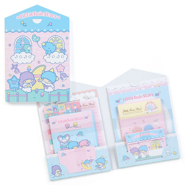 Sanrio - Set de Papel Carta Little Twin Stars-Sanrio-Monono-Peru