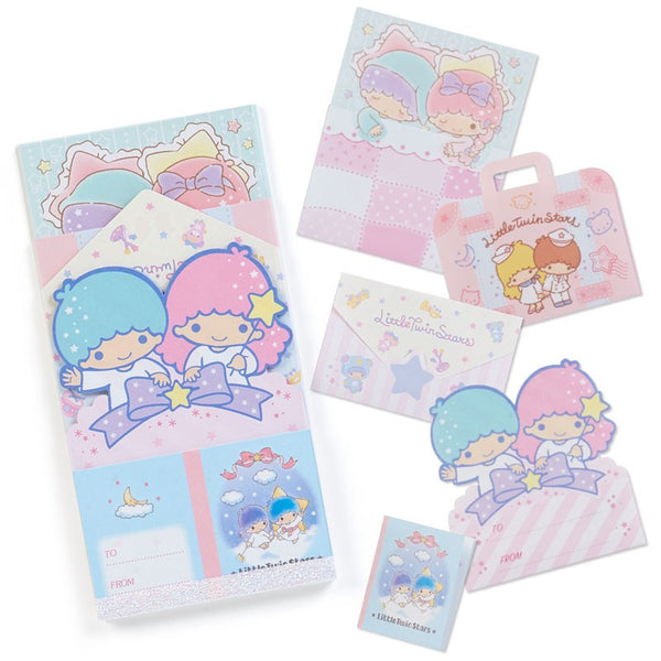 Sanrio - Set de Notas Little Twin Stars 5 Designs-Sanrio-Monono-Peru