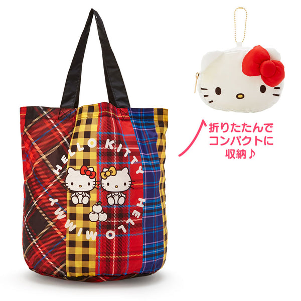 Sanrio - Bolso Reutilizable Hello Kitty & Mimmy