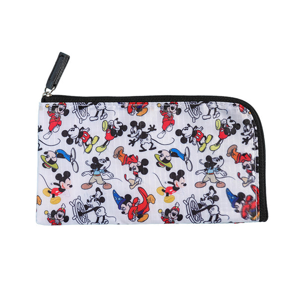 Disney - Estuche para Mascarillas Cosmetiquero Mickey Mouse 90 Years