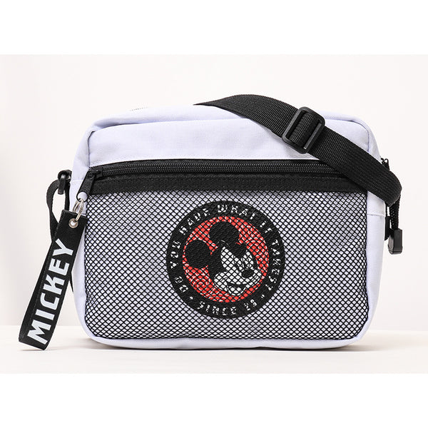 Disney - Bolso Morral Blanco Mickey Mouse What it Takes