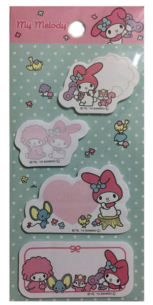 Sanrio - Post Its My Melody Quotes - Monono Perú