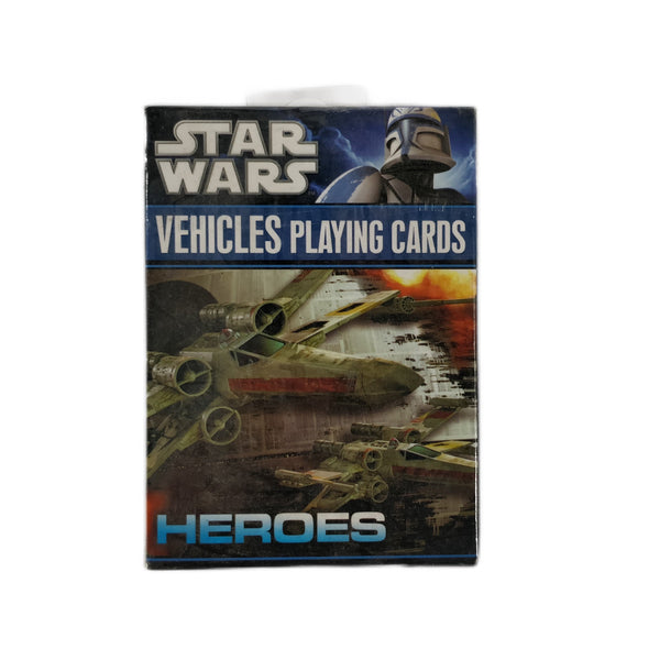 Star Wars - Cartas Naipes Temático Naves Vehículos Heroes