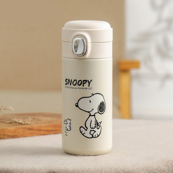 Peanuts - Termo de Aluminio de Snoopy Walking 300 ml