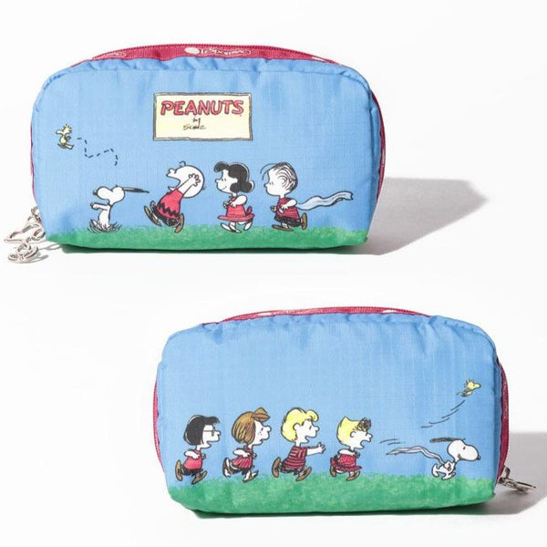 Peanuts - Neceser Cosmetiquero Pouch Impermeable de Snoopy Characters Run