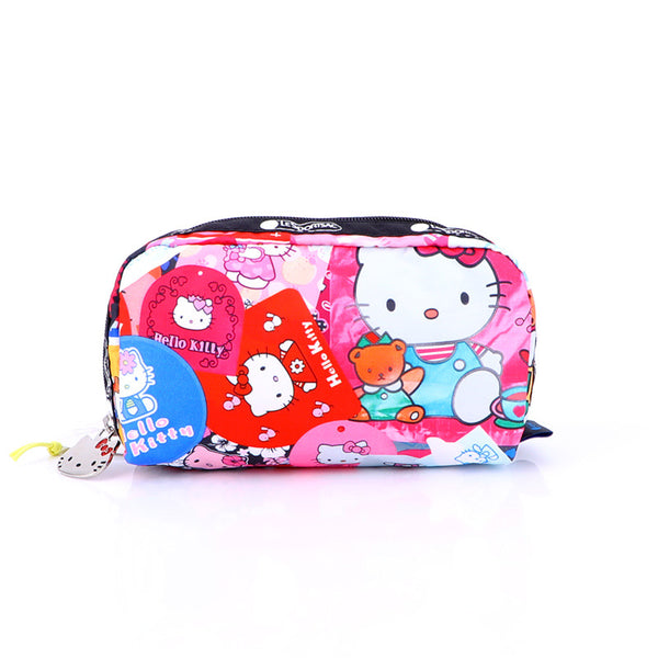 Sanrio - Neceser Cosmetiquero Pouch Impermeable de Hello Kitty Stamps