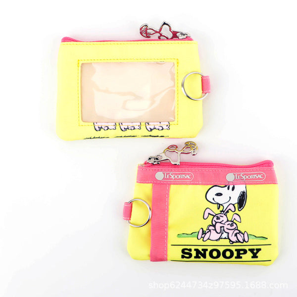 Peanuts - Monedero de Snoopy Yellow