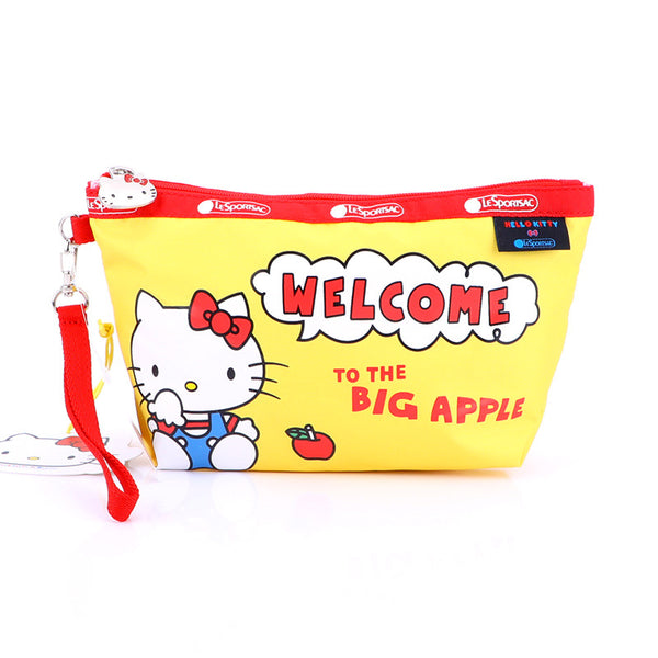 Sanrio - Neceser Cosmetiquero Rectangular Impermeable de Hello Kitty Welcome To The Big Apple