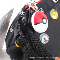 mononoperu,Pokemon - Neceser Cosmetiquero Rectangular Impermeable de Pokemon Black,Monono,.