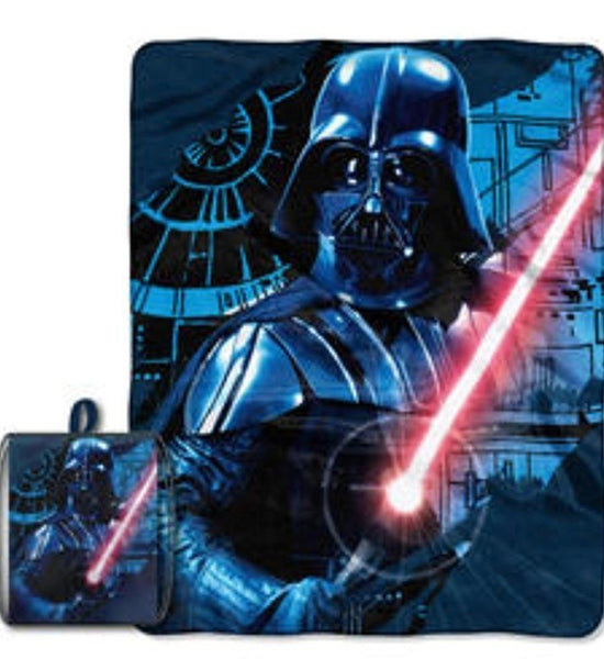 Star Wars - Manta Polar Darth Vader con Mochila Deportiva-Star Wars-Monono-Peru