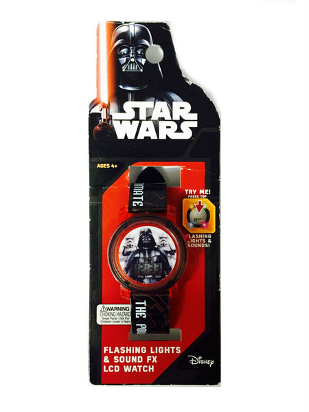 Star Wars - Reloj con Luces y Sonido Darth Vader-Star Wars-Monono-Peru