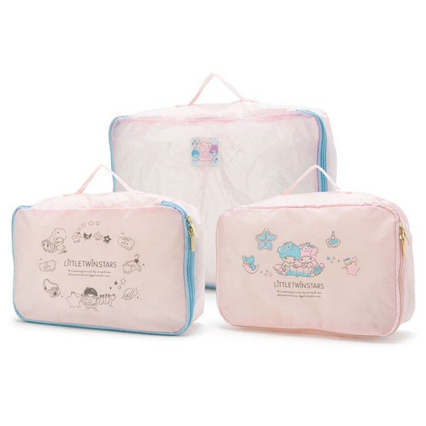 Sanrio - Set de Estuches Viajeros 3 Piezas Little Twins Star