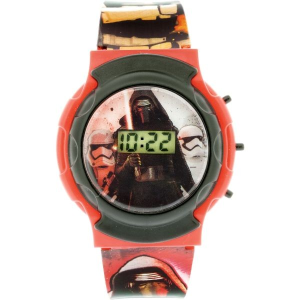 Reloj Kylo Ren Stromtroopers Flashing LCD Watch-Star Wars-Monono-Peru