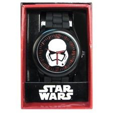 Star Wars - Reloj Stormtrooper First Order Black Quartz Red-Star Wars-Monono-Peru