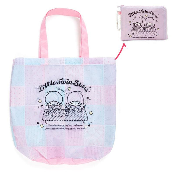 Sanrio - Bolso Plegable Little Twin Stars Food