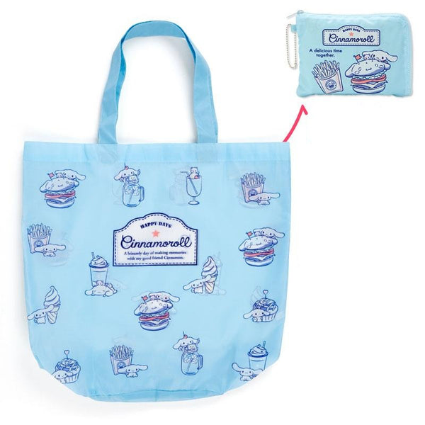 Sanrio - Bolso Plegable Cinnamoroll Food