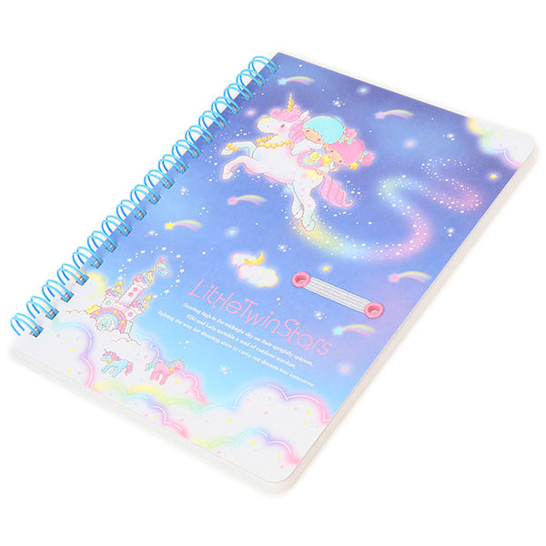 Sanrio - Cuaderno B6 Little Twin Stars Unicorn