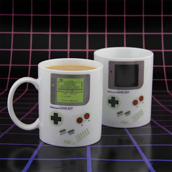 Nintendo - Taza Mug Game Boy Heat Change - Monono Perú