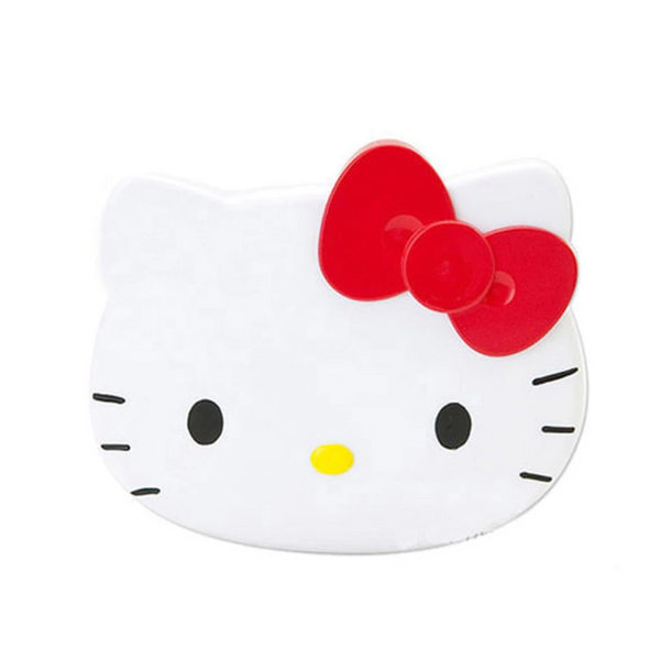 Sanrio - Espejo Compacto con Peine Hello Kitty Red Ribbon